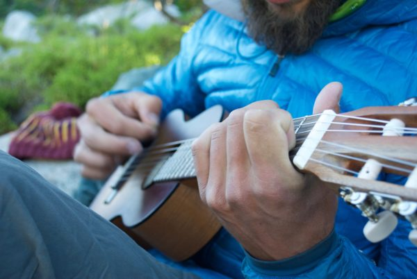 29 Man Playing Guitar Leisure Relaxation