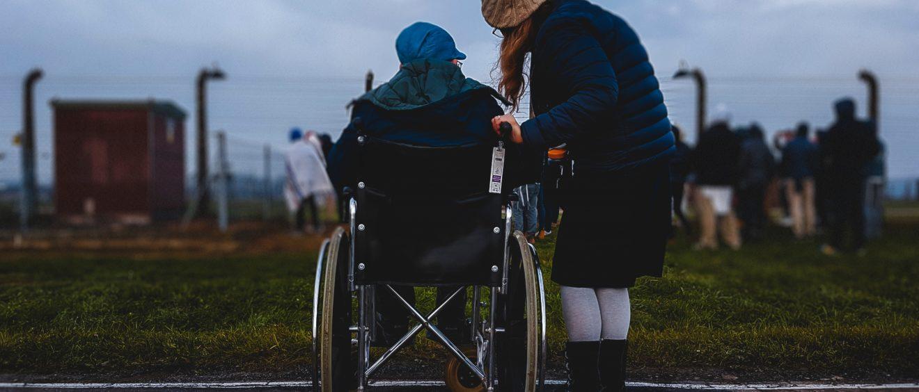 40 Solidarity Woman Helping Elderly